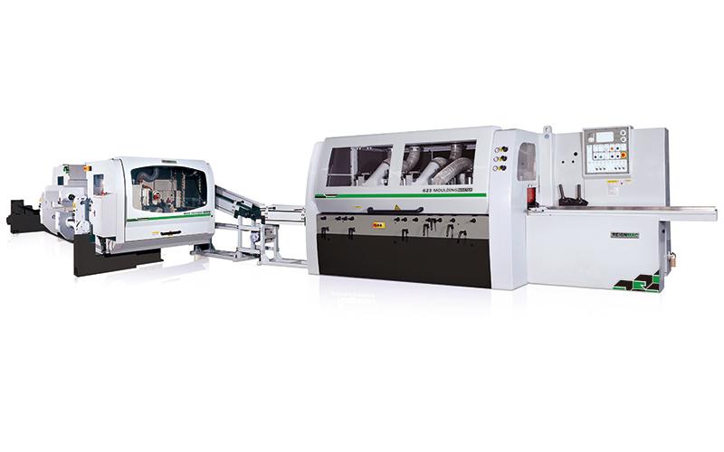 RMM+RMD 四面刨 + 雙端銑生產線