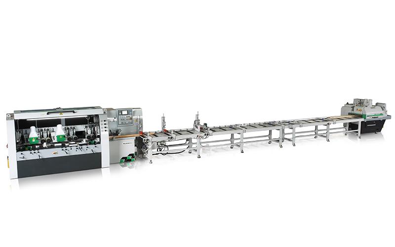 RMS+RMM 多片鋸 + 四面刨生產線