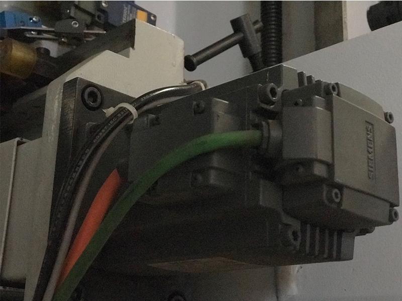 CNC four-side moulder series M23M-NC