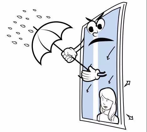 住在高楼层的你要注意了,一扇防水门窗会省心很多!