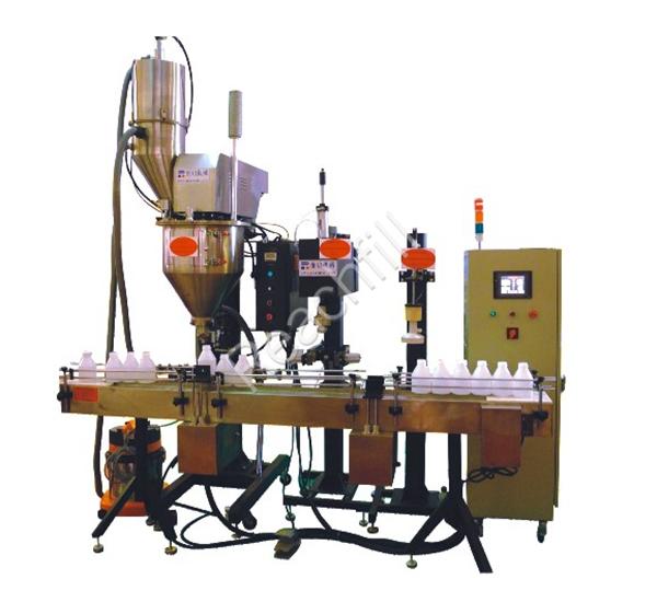 WQ-AL2000 bottled powder full automatic filling line