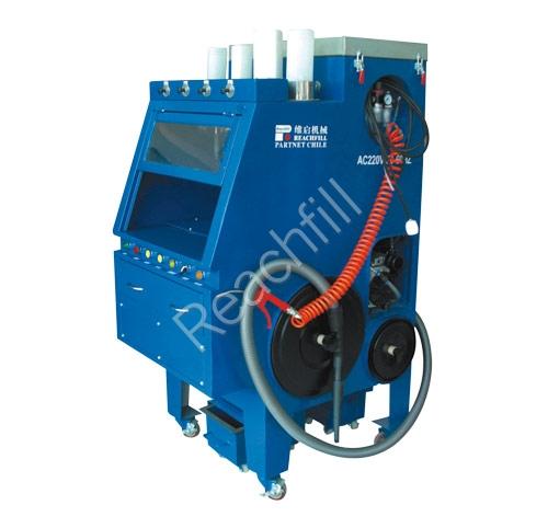 WQ-TX790 shop style toner cleaning/vacuum machine