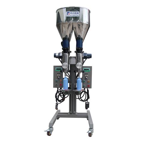 WQ-TG24 double head quick powder filling machine