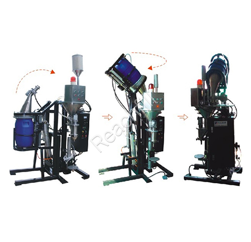 WQ-TAF350 (dust-free) automatic flip bucket screw powder filling machine