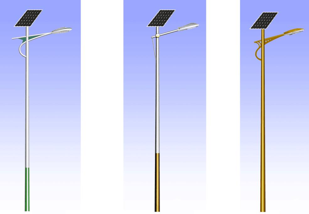 风光互补太阳能路灯-2