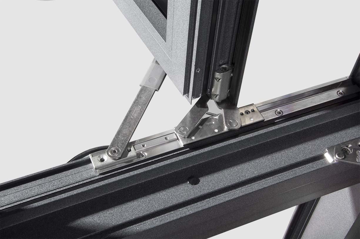 米斯特MST128窗纱一体外开系统窗