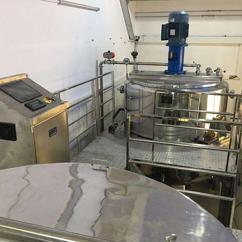 洗涤剂生产设备 全新洗洁精母料混合设备 316化工液体自动搅拌罐