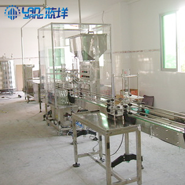 Manufacturer's customized bottle water filling machine line 1L-20L pure water processing line machin