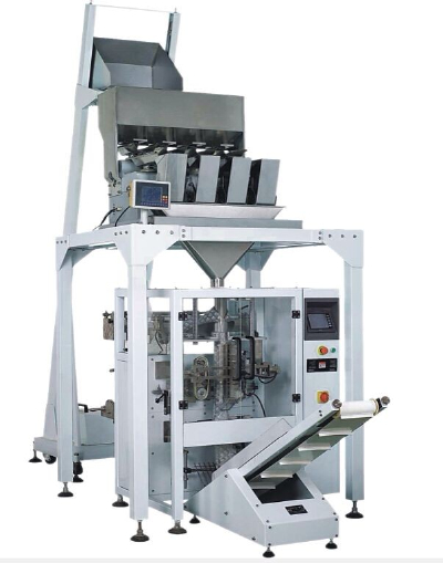 Direct selling automatic packaging line - 1-5kg granule measuring cup, screw powder, combined weighe
