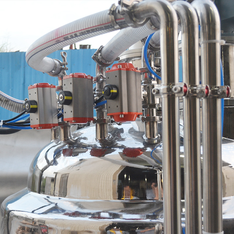 Guangzhou factory supply powder liquid automatic weight batching system electric heating stainless s
