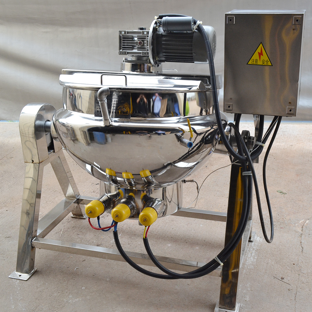 Manufacturer direct sell electrical heating jacket kettle-100L 200L 300L capacity customized