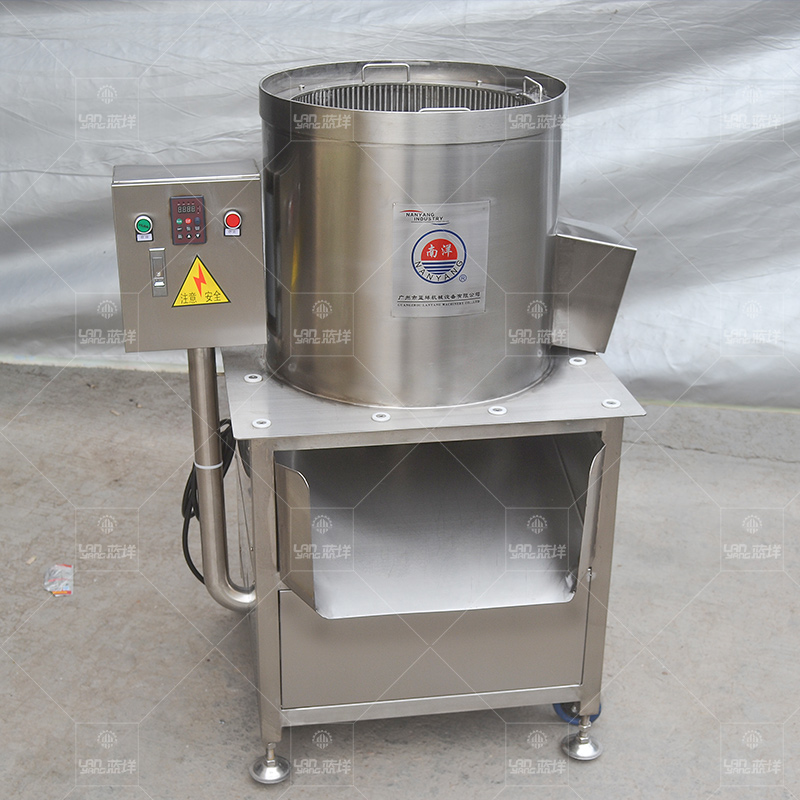 Lanyang upgraded version of durian certifugel machine - automatic pulp and fruit kernel separation