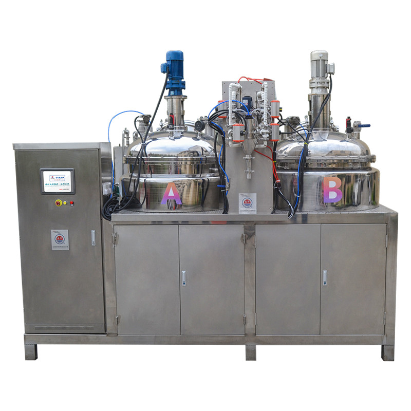 Upgrade version of the pouring machine - PU PU rubber roll automatic accurate measurement of ingredi