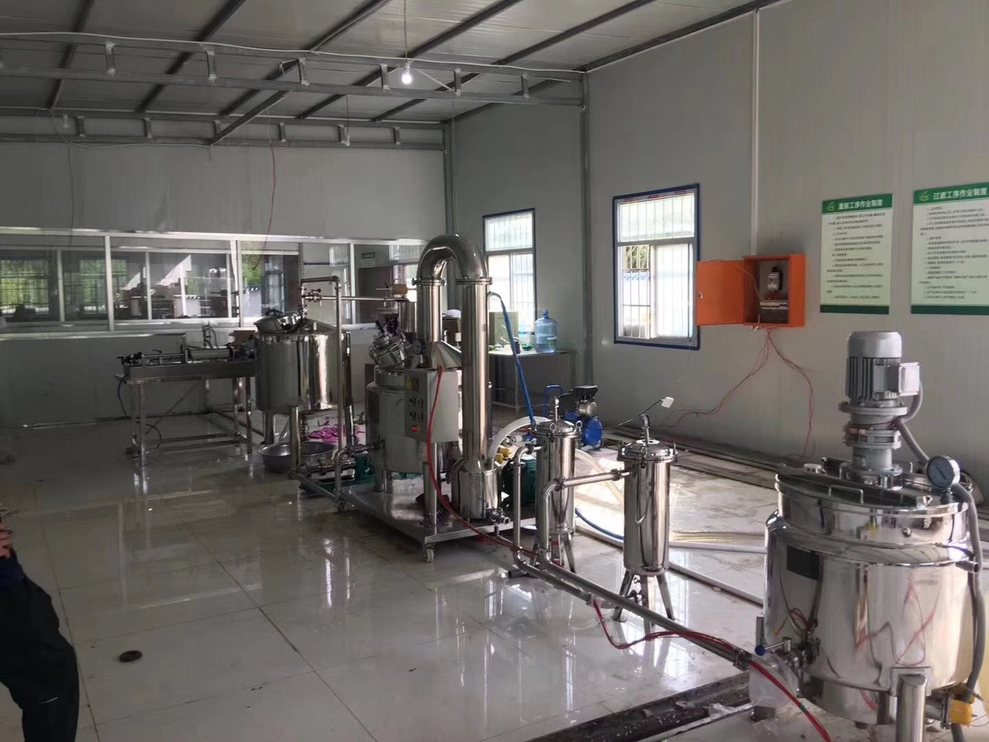 Manufacturer customized processing line - automatic bottling filling capping line -