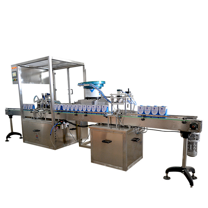 Lanyang customized automatic filling machine line for perfume/water/drink/beverage bottle