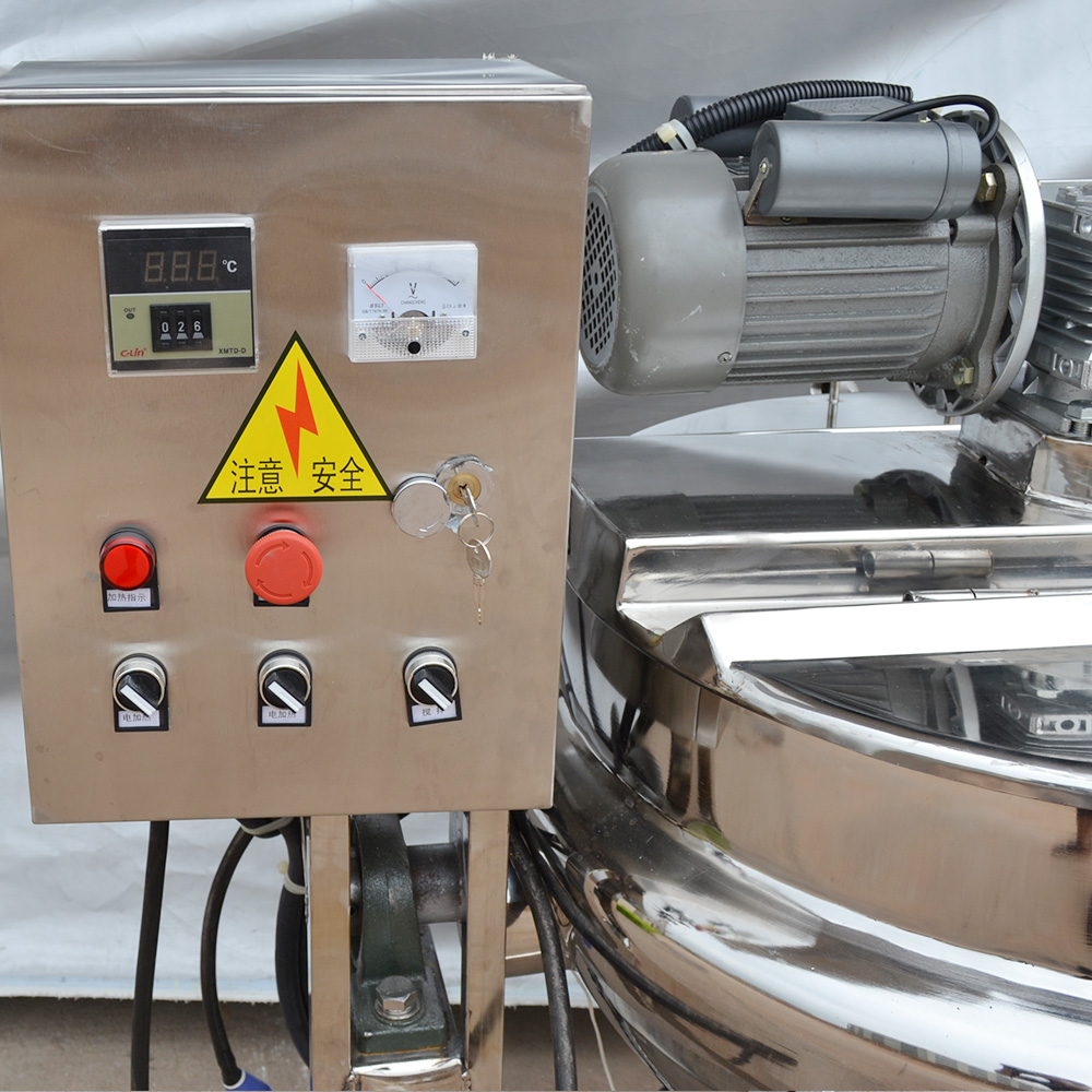 Lanyang electric heating jacket kettle for sauces/food/100-500L customized