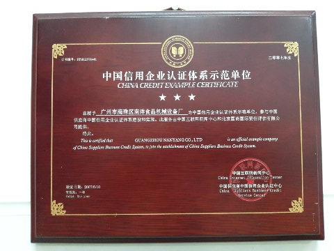 信用企业认证