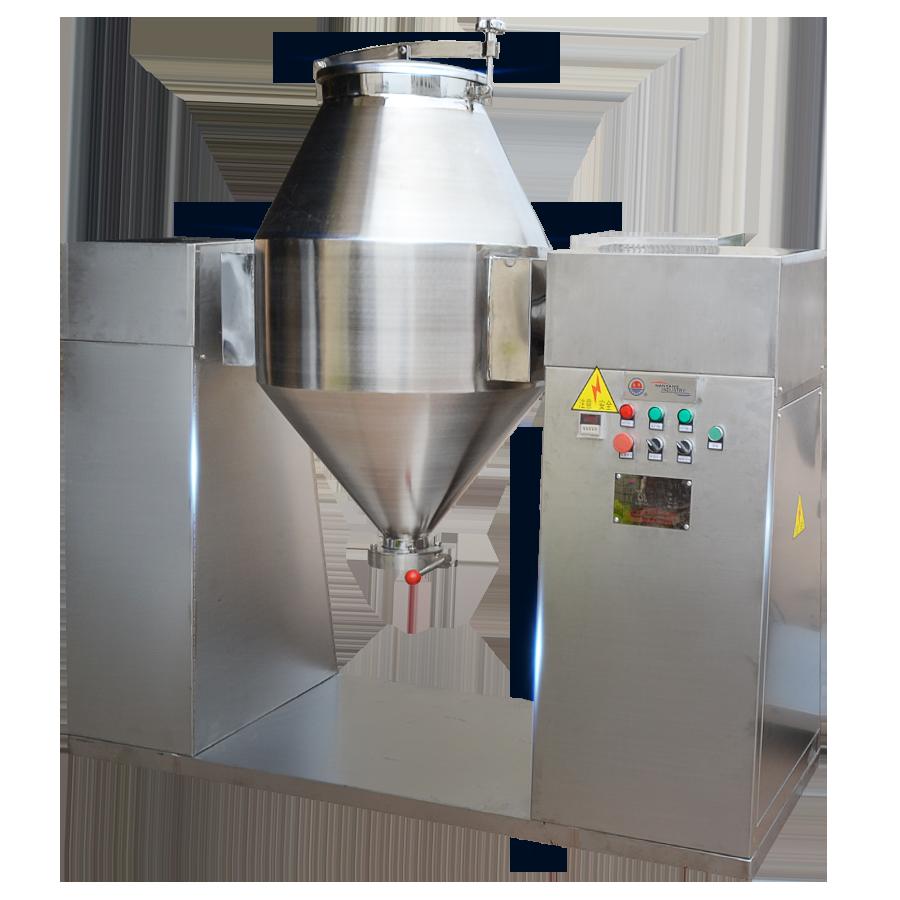 双锥回转真空混合机 食品W型搅拌混料机 医药制药设备 粉体混合机