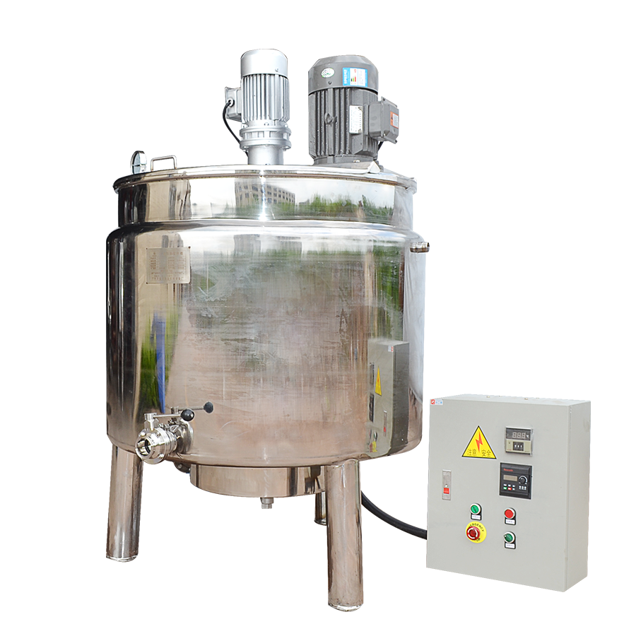不锈钢电加热搅拌桶 带乳化头 发酵桶 液体化工设备 厂家直销
