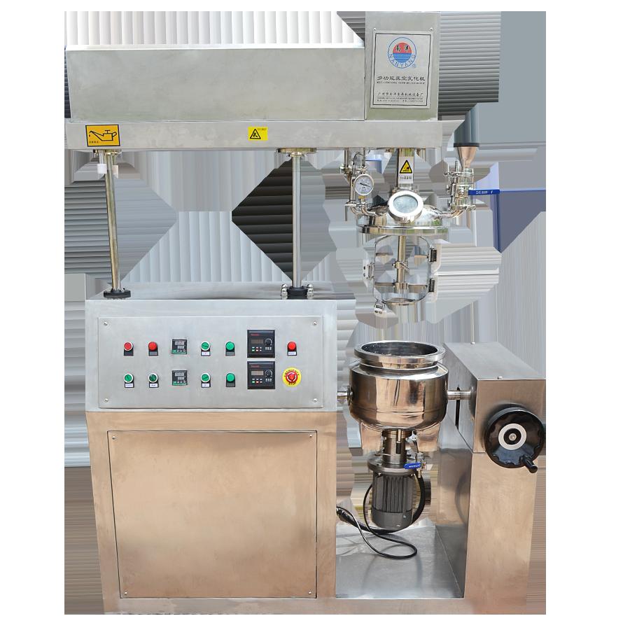全自动均质乳化机 真空高剪切乳化罐糖类溶胶化妆品乳化设备现货