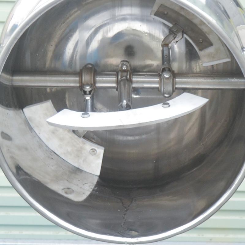 可倾不锈钢夹层锅 横轴搅拌锅厂家直销 电加热羊肉汤料夹层煮锅