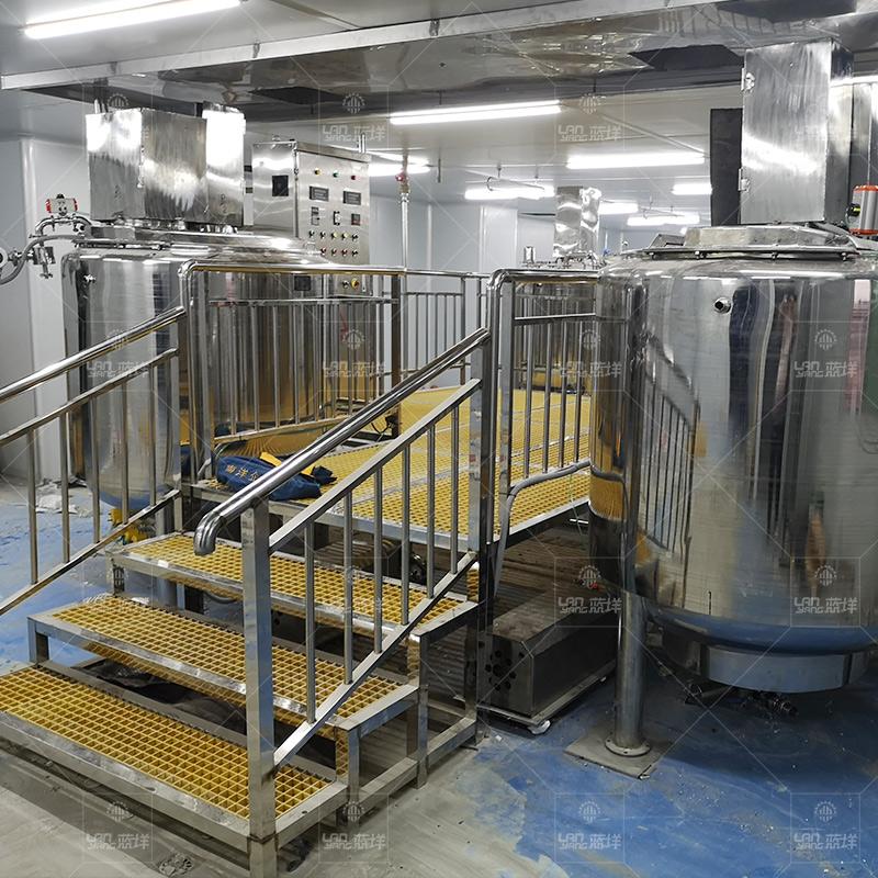 海鲜酱鸡汁生产线 酱料浓缩汁调配加工生产设备 蚝油食醋生产设备