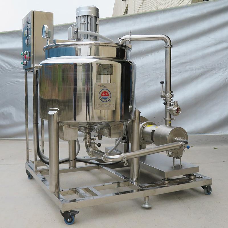 消毒液配料罐 乳化电加热搅拌罐 乳化罐 消毒粉搅拌桶 广州蓝垟机械
