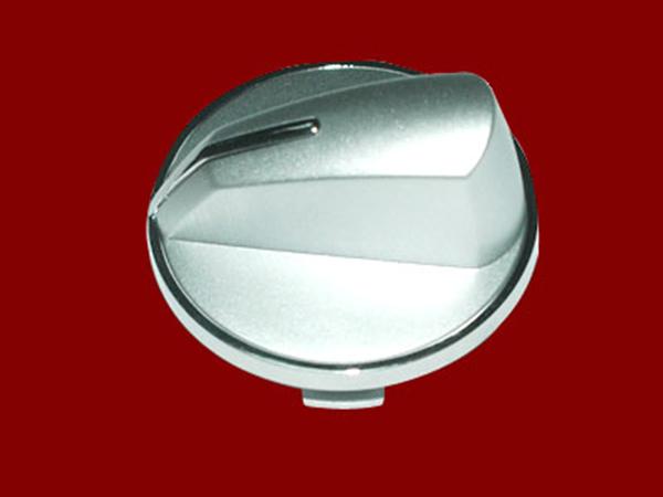 Electrical knob-silver spray-middle trim ring