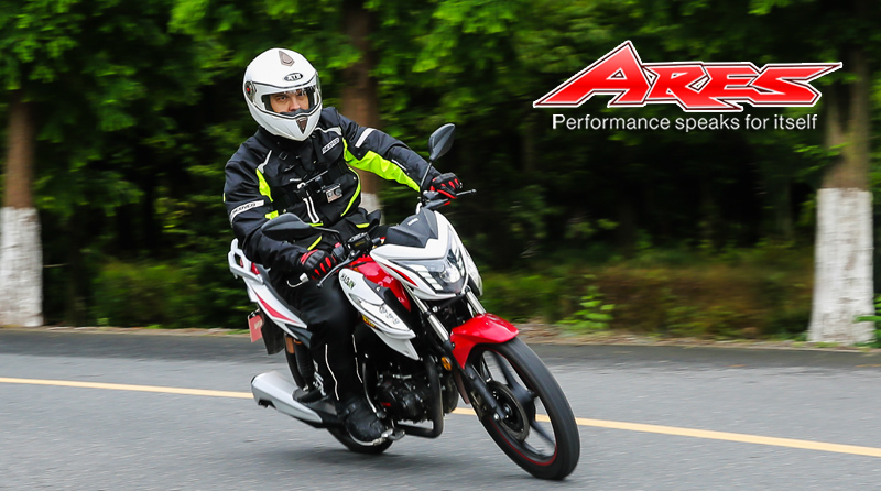 HAOJIN ARES150 TEST RIDE