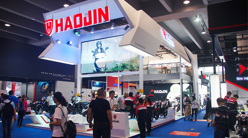 HAOJIN Attend 124th Canton Fair  --High tech, High value, High quality, strong eye-catching.