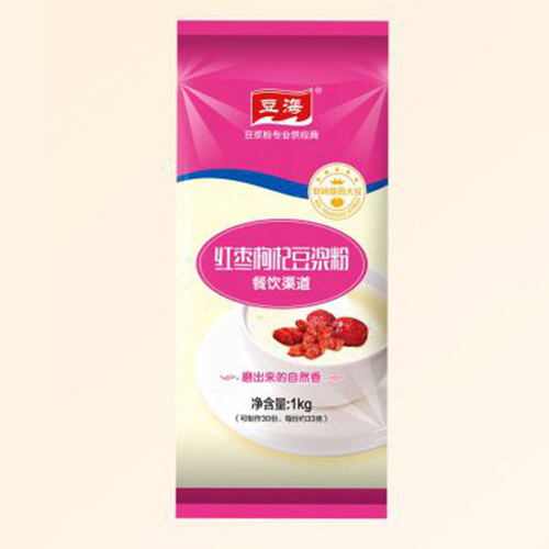 Red jujube soy milk powder