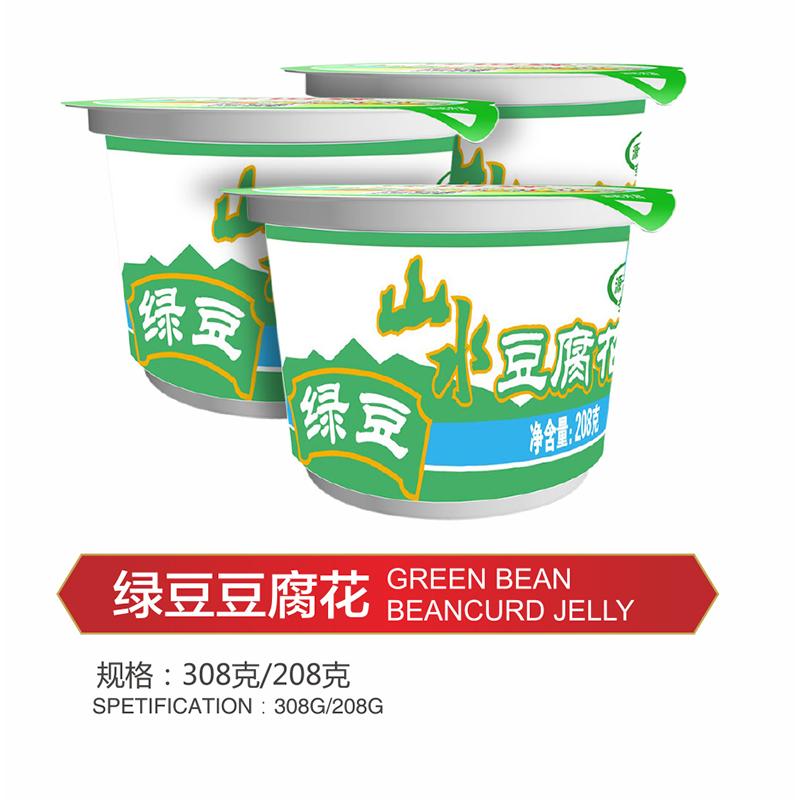 绿豆豆腐花
