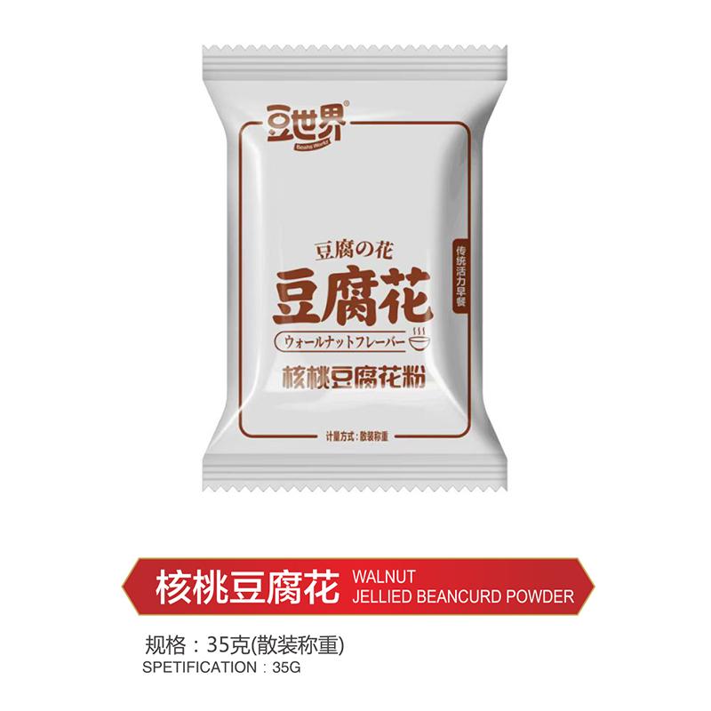 核桃豆腐花