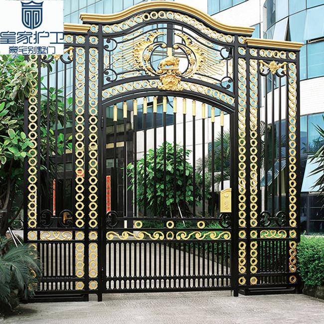 Buckingham Palace 04- luxury villa gate