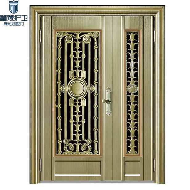High end villa door - color steel 01