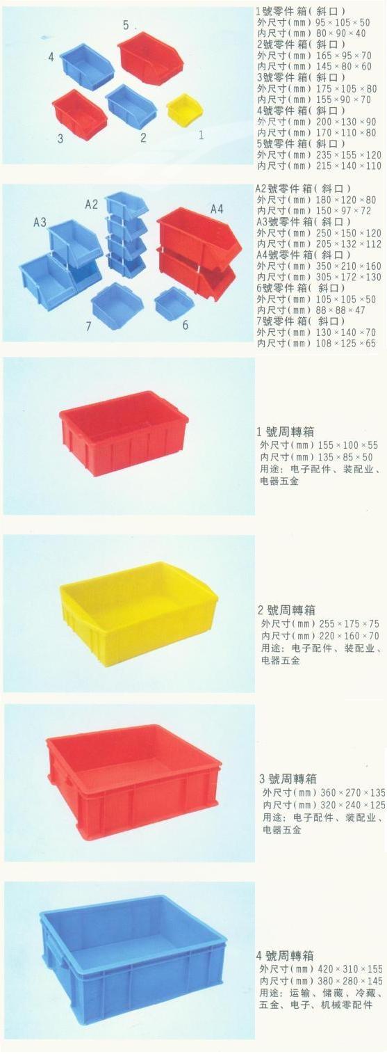 塑料周转箱箩1