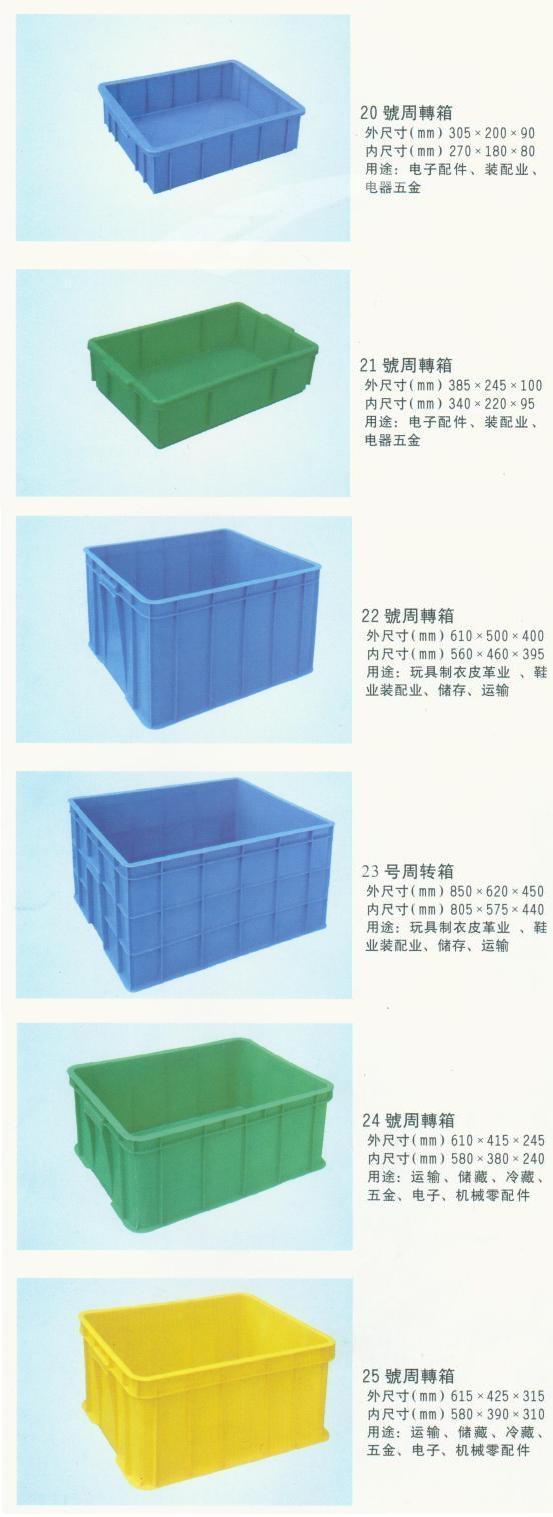 塑料周转箱箩5