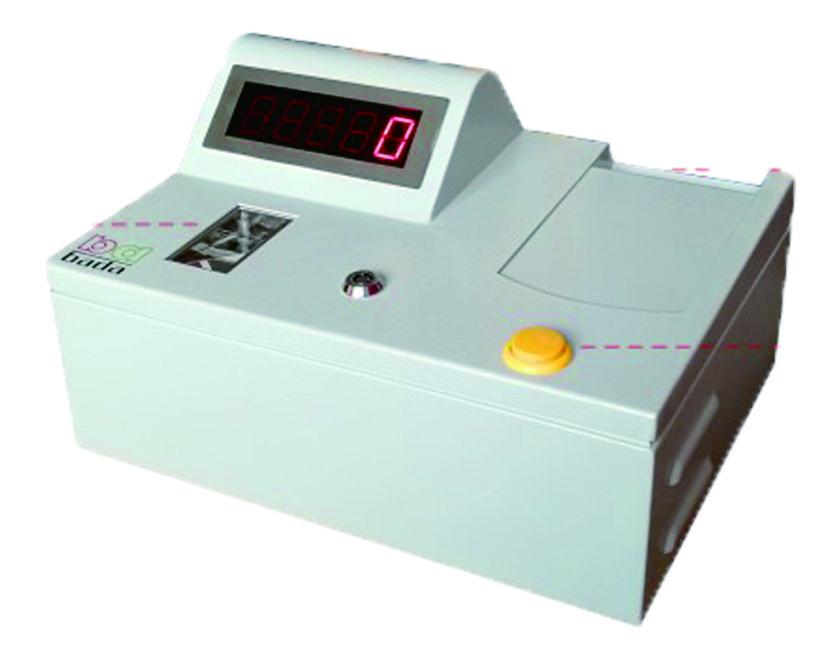 Counter ticket machine