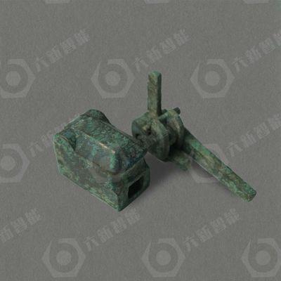 战国青铜弩机(六新复制品)