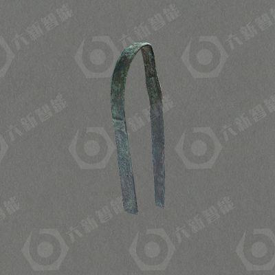 战国铜夹(六新复制品)