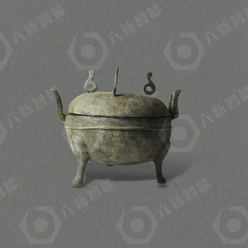 西汉铜鼎(六新复制品)