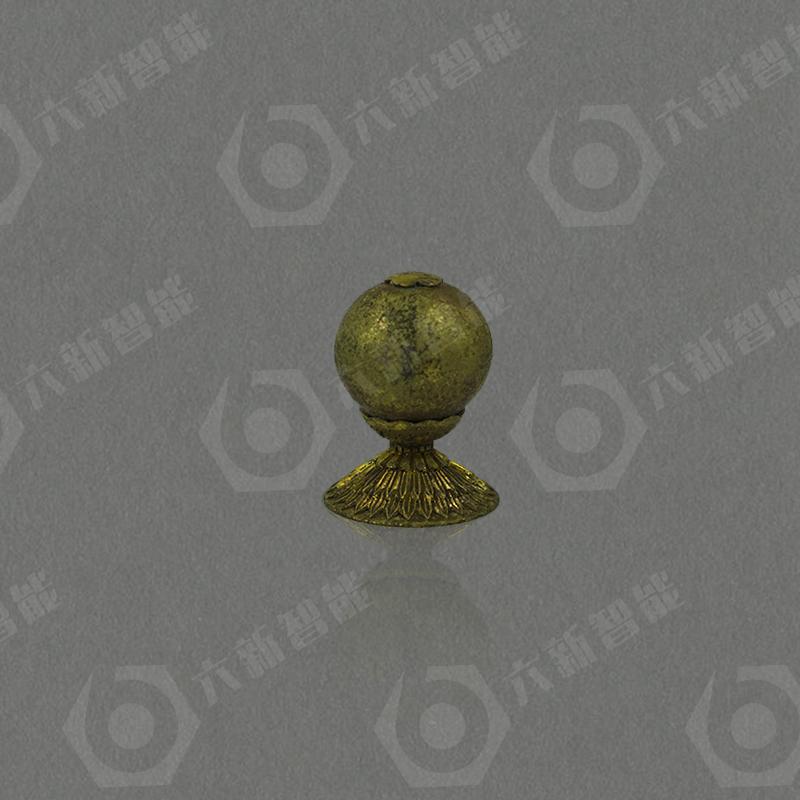 素金顶珠(七品)(六新复制品)