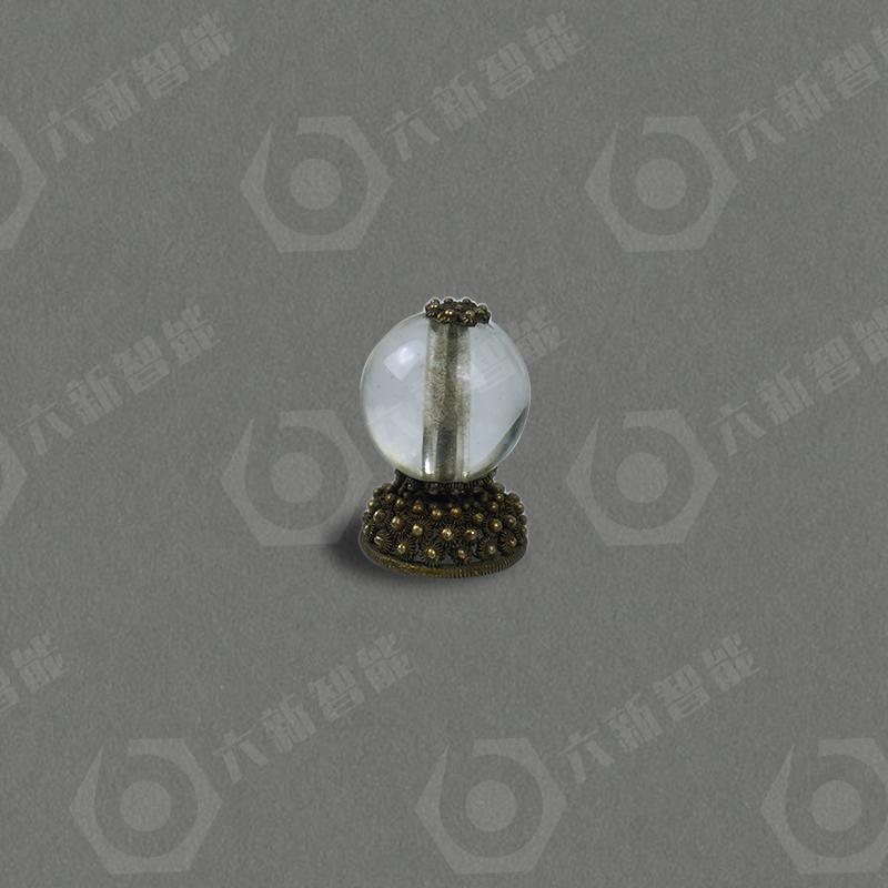 水晶顶珠(五品)(六新复制品)