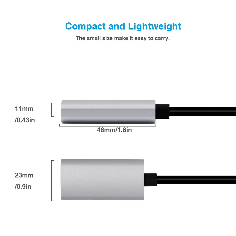 120052 HDMI Female to USB C