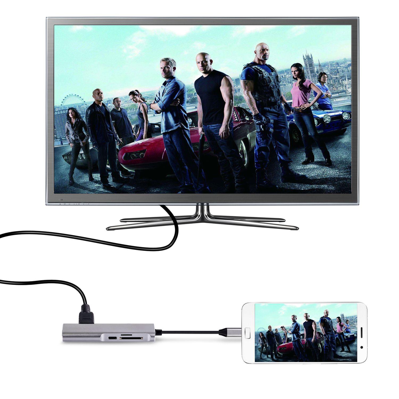 120054 USB C 5 in 1 Hub