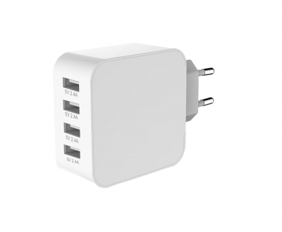 4 Ports USB charger EU/UK standard