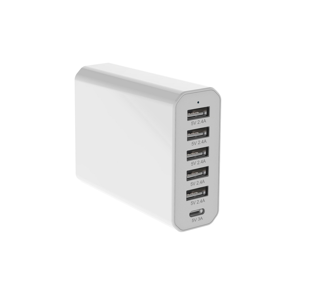 6 Ports USB/Type-c charger