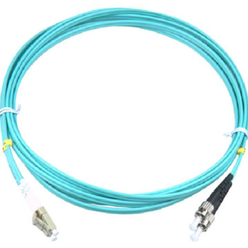 LC-ST OM3, Duplex Fiber Optic Patch Cord