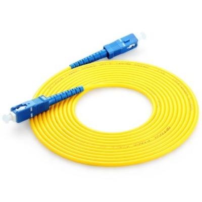 SC Simplex SM Fiber Optic Patch Cord
