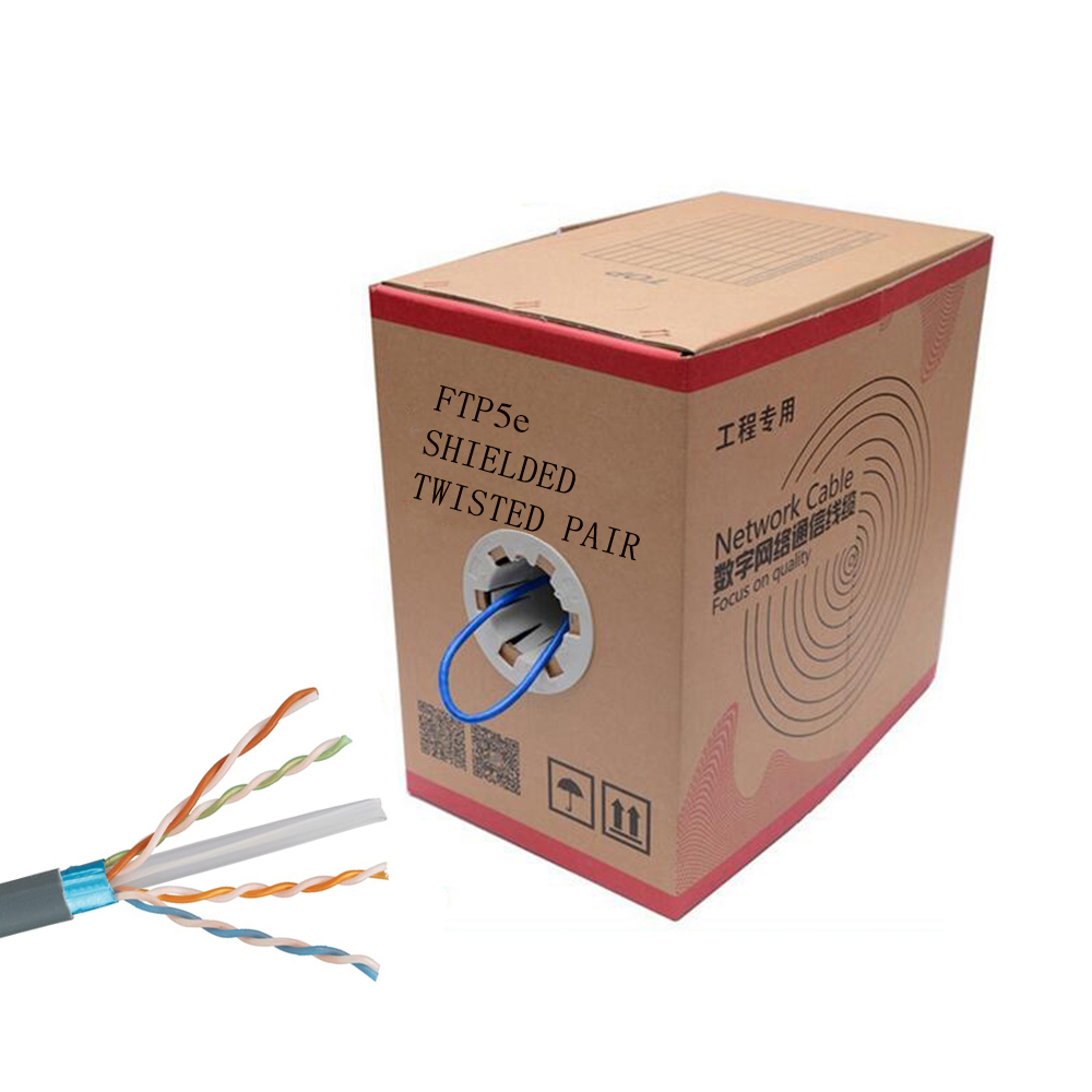Cat.5e FTP(Outdoor) Horizontal Cable(PE)